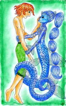 Love under the sea by romenriel