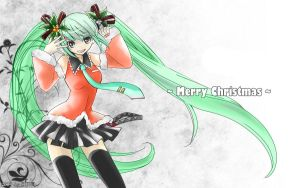 Miku color that i did last year not finished by Mikuhatsune1xx