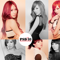 PSD Files 10 - Miss  A by MisSGuaRD