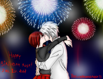 HAPPY NEW YEAR/BIRTHDAY ROSE! XD by TheLoneRestlessRose