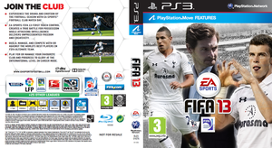 Fifa 13 - PS3 Spurs Cover by mattsimmo
