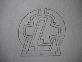 Team Legacy Symbol Drawing Version by EpicFail222