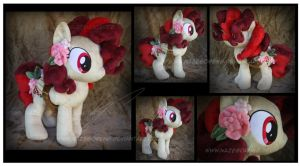 Commission: Fairy Ring OC Custom Plush by Nazegoreng