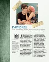 Magazine Layout: The Promise by maxdanger2