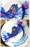 The TARDIS dish I've ever made by Makisai