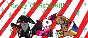 Merry Christmas soul n shadow by SilverSunFoxy