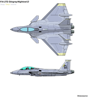 F/A-27D 'Derpy Hooves' [Mirage Squadron 02-179] by slowusaurus