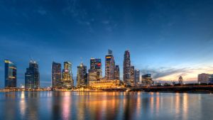 Skyline Sunset in HDR by Shooter1970