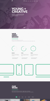 Sensa - One Page Design by wpthemes
