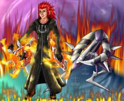 KH II: VIII Axel-Assassin by CrimsonskyR
