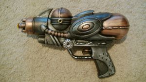 Cheap-O squirt gun re-painted. by VPhilly