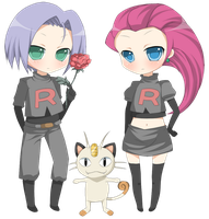 Team Rocket by ruri-chu
