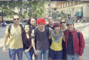 Oh my gawd, there faces X'D by The-MCR-Fan-Club