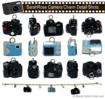 SarahRose Camera Charms by chat-noir