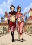 Ty Lee and Azula: Nine Months Later by Donutwish
