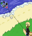 Lets go Fly A Kite (Pokecino Event) by ZigZagLin