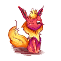 Flareon by ShadowDark222