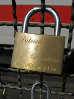 padlocks of love 39 by Meltys-stock