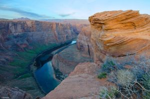Half of Horseshoe Bend by TerribleTer