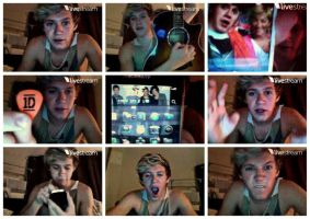 Nialls Twitcam by pinkdimonds