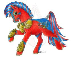 Xerxes for war pony by customlpvalley