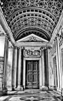 Santa Maria Maggiore Entrance by superflyninja