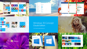 Windows 10 Design concept Promo by kalinin-ilya