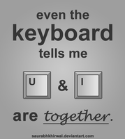 the keyboard says by saurabhkhirwal