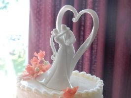 Wedding Cake Topper by androidodnetnin