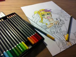 Black butler Lizzy process by AgentJelly101