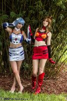 Rei Ayanami and Asuka Langley Soryu 3 by Insane-Pencil