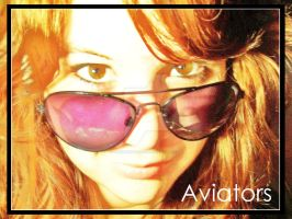 My Aviators by alexandralinae