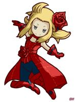 Edea Lee Red Mage Bravely Default by Yhanizel