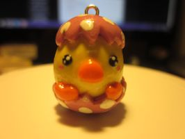 Polymer Clay Easter Chick by Darklunax110