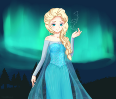 Be the good girl you always have to be - Elsa by yosibunn