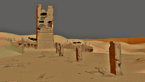 Desert Wasteland - Dead or Alive 5 by JhonyHebert