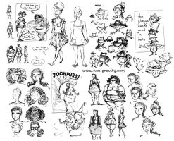 Hats Sketches by nongravity
