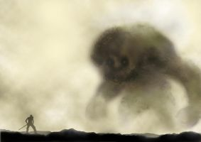 shadow of the colossus tribute by willpheonix