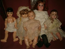 Dolls Group by Falln-Stock
