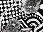 Owls in Wonderland by ApocalypticCandy