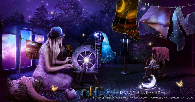 Dreams Weaver - collaboration by adoreluna