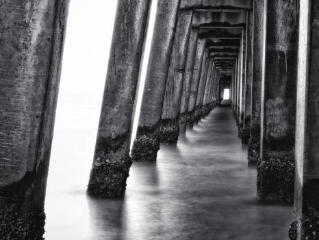 Long Exposure at Naples Pier by tmfNeurodancer