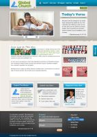Global Church PSD Template by stylus1274
