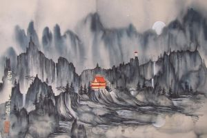 chinese traditional art  No.1 by nadav613