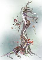 The dryad by Naralim