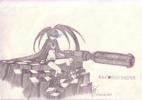 BLACK ROCK SHOOTER by YipFeng-san