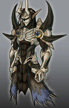 Syrus Armor Redesign by Dyemelikeasunset