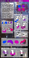 Galaxy Fawn Guide (OPEN SPECIES) by dustyhyena