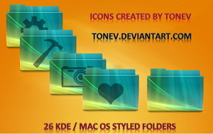 Vista2 KDE Leopard folders by tonev