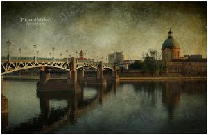 Banks of the Garonne, Toulouse by MPlichard